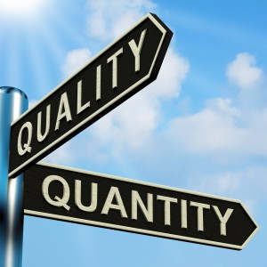 Does Quality vs. Quantity when it comes to Sales Activity?